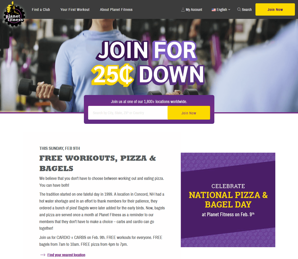 Planet Fitness Promo Code