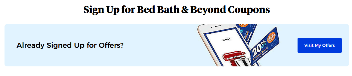 Bed Bath And Beyond Coupons Code And Promo Code