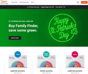 Family Tree DNA Coupon