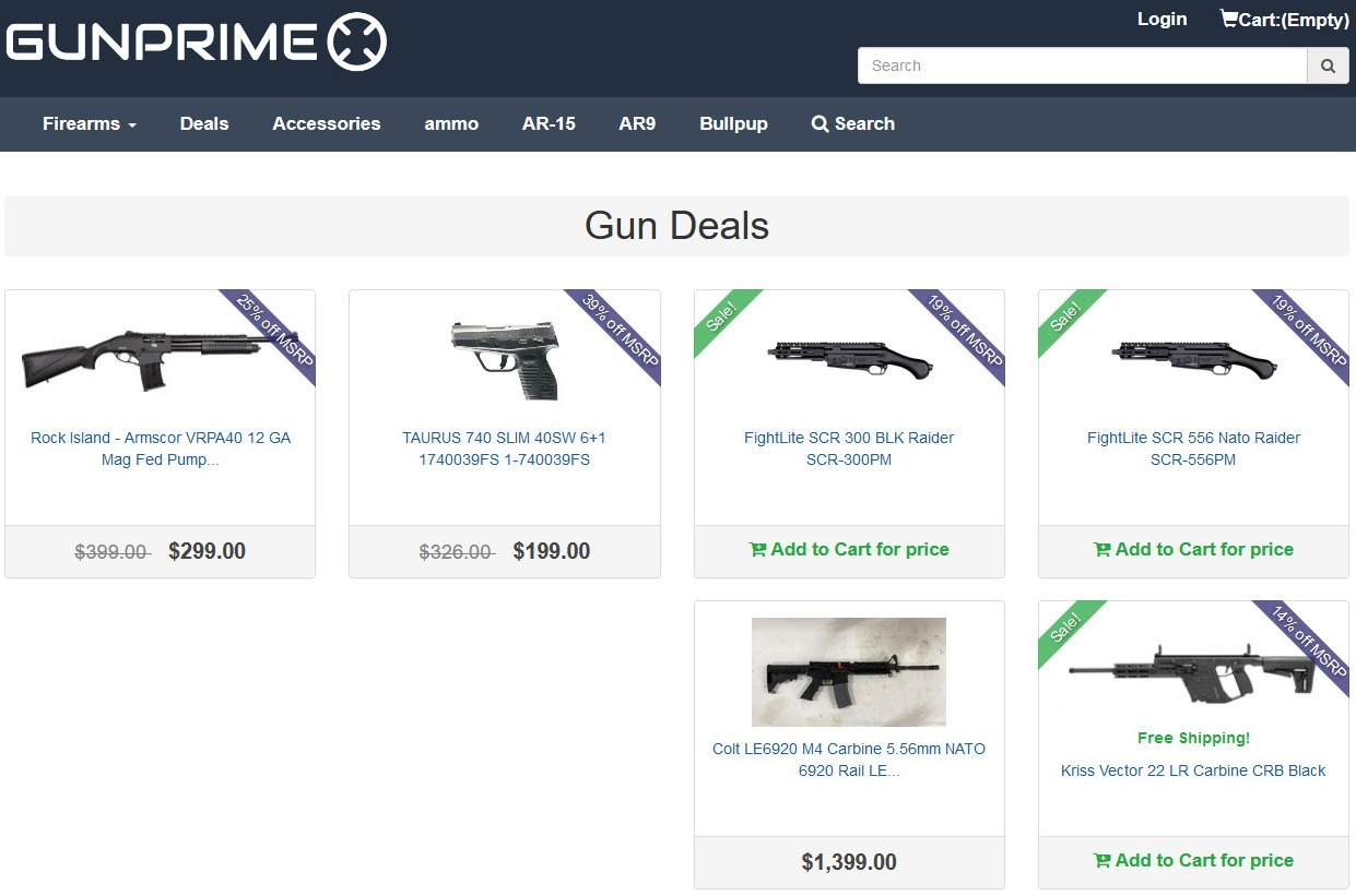 Gunprime Coupon
