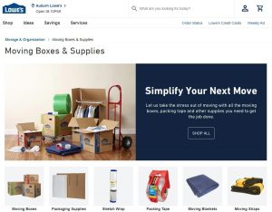 Lowe's Moving Coupon