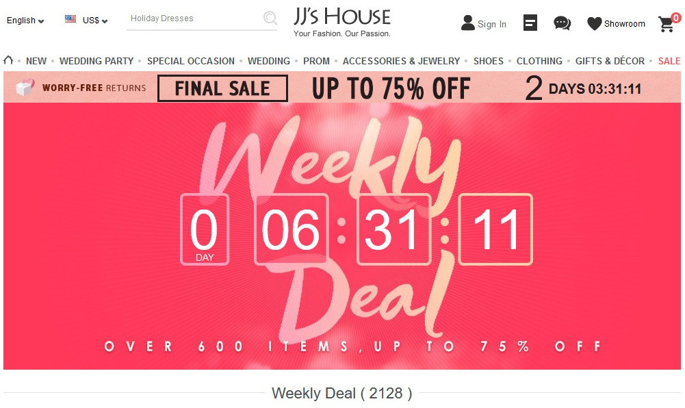 JJsHouse Coupon