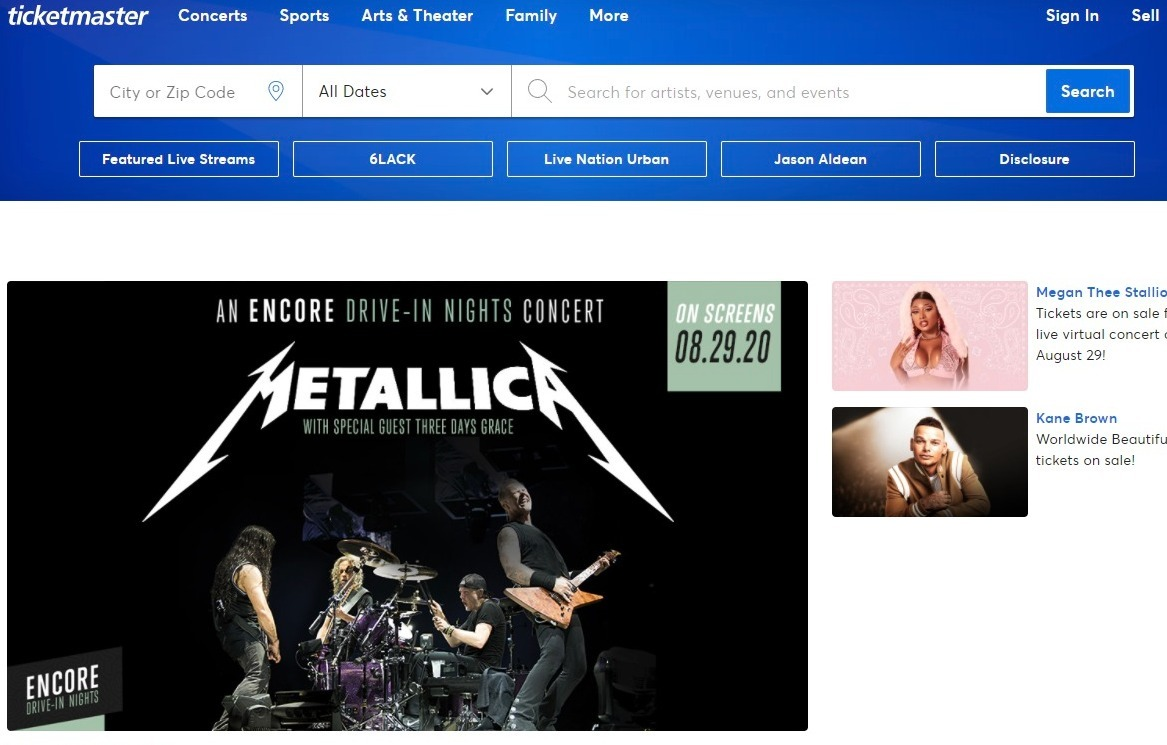 Ticketmaster Coupon
